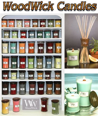 WoodWick Candles, Reed Diffusers, Refills, Large Selection of Scents