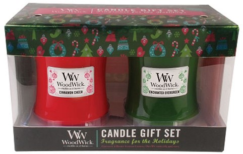 WoodWick Candle Gift Set Only $25!  IN STOCK