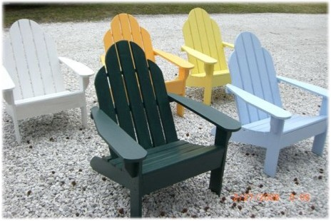 Beau Custom Adirondack Chairs In Standard Colors   More Colors Available
